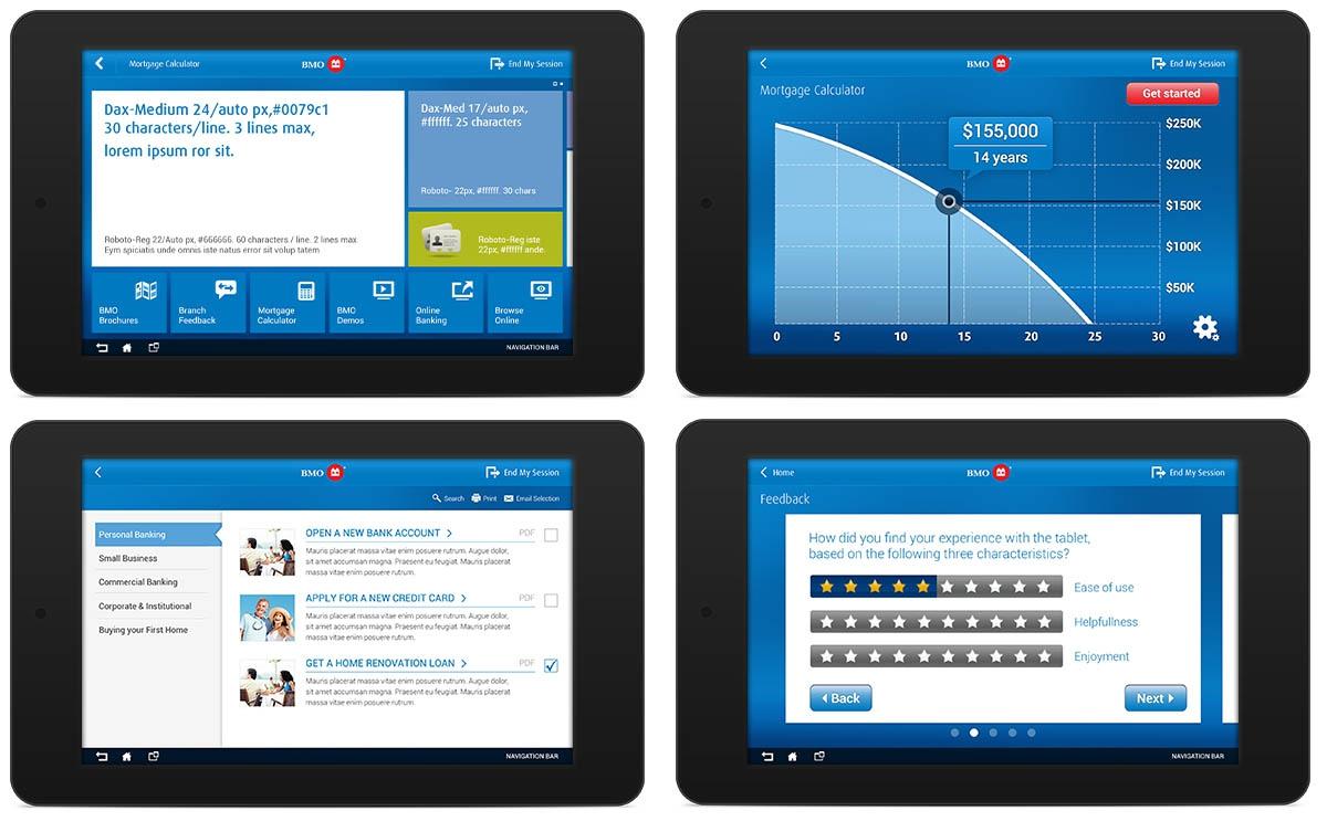 BMO Branch Tablet App